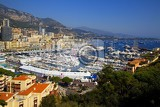 Photo City. Harbor, the sea and ships. Monaco- France.