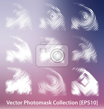 vector photomask collection for creative design work