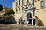 Fotografie City. Square, palace and castle guards. Monaco- France.