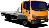 lorry or truck vector illustration