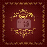 Fotografie collection of ornate vintage vector frames with sample text perfect as invitation or announcement all pieces are separate easy to change colors and edit