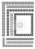 Photo collection of ornamental rule lines in different design styles eps10 vector illustration