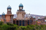 Photo panorama of sun city the palace of lost city luxury resort in south africa