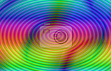 Fényképek abstract decorative spectral colored circle backdrop or background