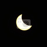 Photo Solar eclipse. Spring, astronomy, astrology, moon and sky.