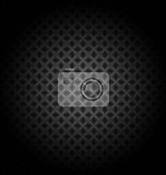 abstract black technology background  for creative design