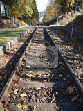 Railway - rails and sleepers