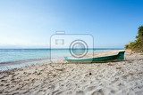 dream sand beach with boat bali indonesia nusa penida island with blue sky