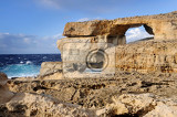natural rock arch called the azure window island of gozo
