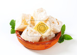 greek loukoumi turkish delight with delicious mastic flavor