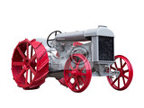 collectible antique toy model tractor