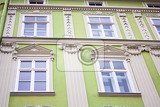 building facade green