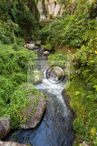 pakerisan river tropical river landscape flows past the sacred temple gunung kawi the balinese  river in pura gunung kawi