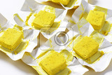 cubes of dehydrated chickenbased bouillon