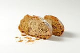 Fotografie crusty rye bread with caraway seeds