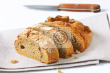 Fotografie sliced loaf of bread with crispy crust