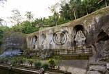gnung kawi temple gunug kawi is an ancient temple situated in pakerisan river near tampaksiring village in bali the archaeological complex is carved out of the living rock dating to 11th century