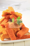 convenience food  breaded fish fingers and nuggets