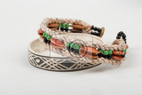 two original himba tribe handcrafted bracelet the himba are indigenous peoples living in northern namibia