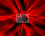 abstract background black and red