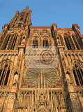 historic cathedral in the strasbourg