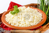 bowl of slovak bryndza cheese