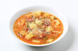 Photo cabbage soup with potatoes and sausage