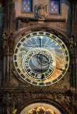 Photo prague astronomical clock at night czech republic