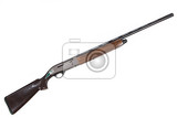 Fotografie isolated hunting rifle on white background