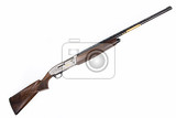 Fotografie isolated hunting rifle