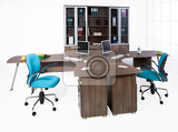 Fotografie office furniture on a white background