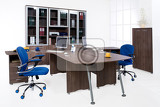 office furniture on white background