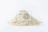 pile of finely ground flour suitable for cake recipes