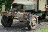 Fotografia the legendary old czechoslovak truck praga v3s this unfortunately ruined