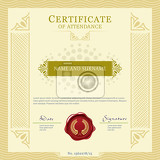 certificate vecter template design layout