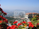 Fotografie italy republic san marino top view