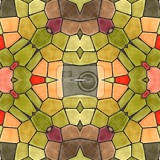 decorative glass mosaic kaleidoscopic seamless texture tiles