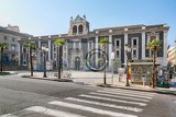 catania sicily italy jul 25 2016 historic building on the square stesicoro in catania sicily italy