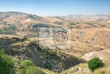 Fotografie inland mountain landscape of inner sicily in summer day sicily island