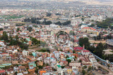 Fotografie antananarivo french name tananarive short name tana  very poor capital and largest city in madagascar madagasikara republic view from top to central antananarivo cityscape