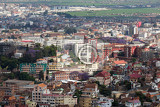 antananarivo french name tananarive short name tana  very poor capital and largest city in madagascar madagasikara republic view from top to central antananarivo cityscape