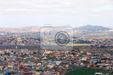 Fotografie antananarivo french name tananarive short tana very poor capital and largest city in madagascar madagasikara republic view from top to central antananarivo cityscape