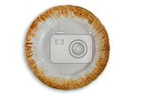 Fotografia dirty plate on white plate
