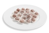 truffles  classic no bake chocolate coconut balls