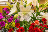Fotografia beautiful floral decorations for the anniversary jubilee