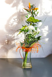 Fotografie beautiful floral decorations for the anniversary jubilee