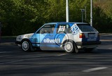 Photo Historical racing car Vw Golf