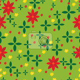 abstract meadow pattern with green background