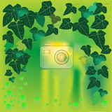 Fotografia nice illustration with ivy background