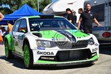 Photo hustopece czech republic june 18 2016 rally car